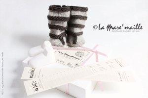 Coffrets cadeau naissance laine