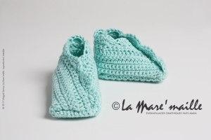 Chaussons bébé coton