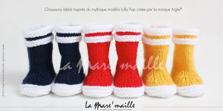 Les chaussons style marin hommage à la marque Aigle®, inspirés par le modèle Lolly