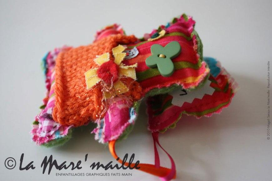 Mini-Dodu n°5 sur son petit oreiller